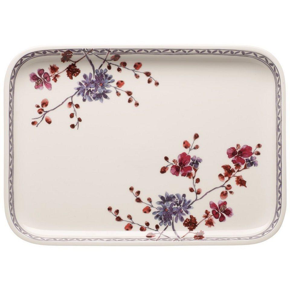 VILLEROY & BOCH Servierplatte / Top Rechteckig 36x2 »Artesano Provençal Lavendel Backformen« in Dekoriert