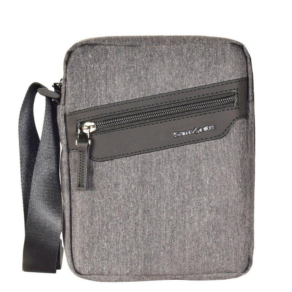 Samsonite Hip-Style #2 Umhängetasche 18 cm in light grey