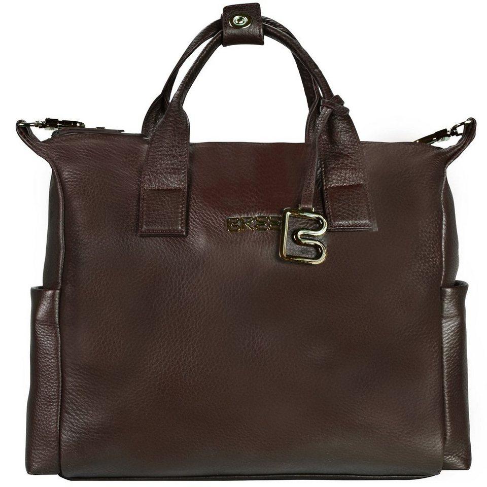 Bree Nola Businesstasche Leder 37 cm Laptopfach in dark brown