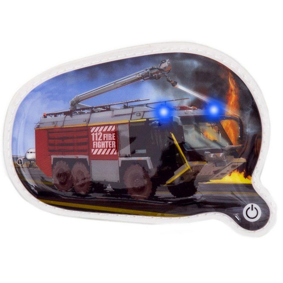 ergobag Klettie mit verschiedenem Motiv LED 13 cm in Feuerwehr