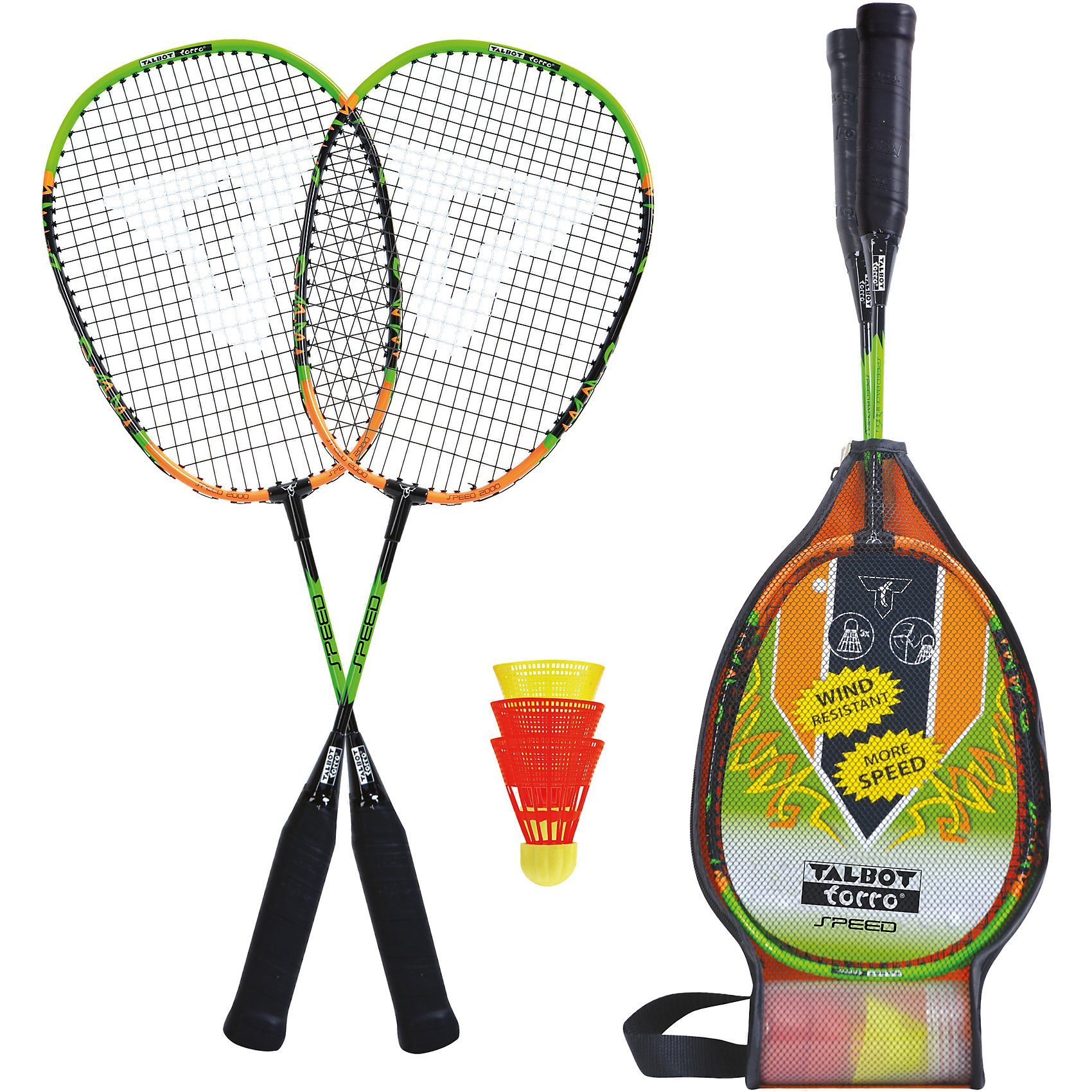 Talbot-Torro Badminton Set Speed 2000