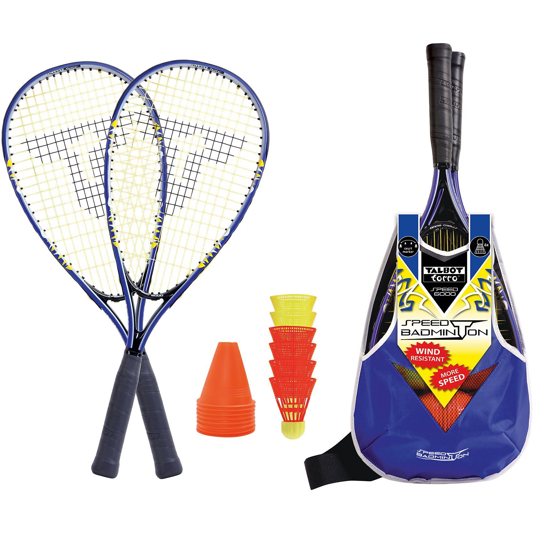 Talbot-Torro Speedbadminton Set Speed 6000