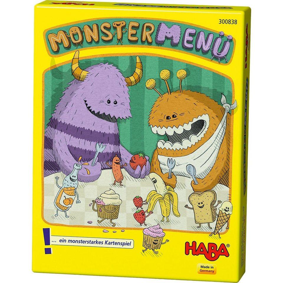 Haba Kartenspiel Monstermenü