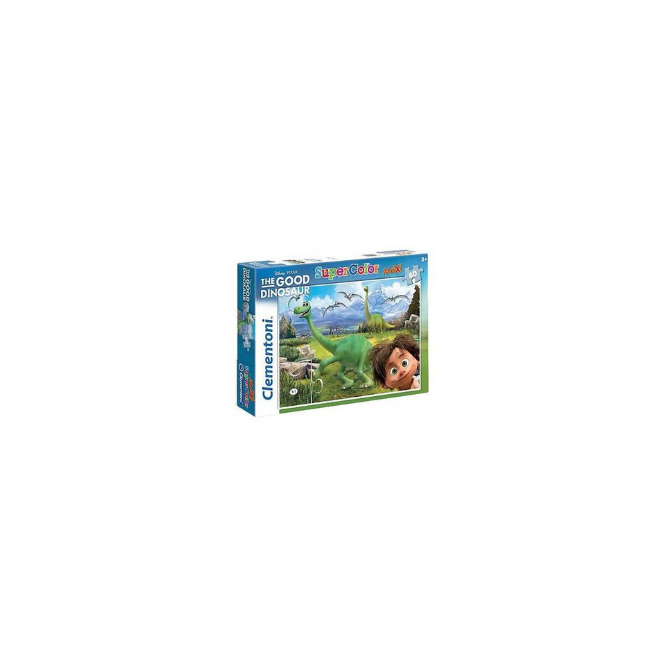 Clementoni Maxi Puzzle - 60 Teile - Disney Arlo & Spot