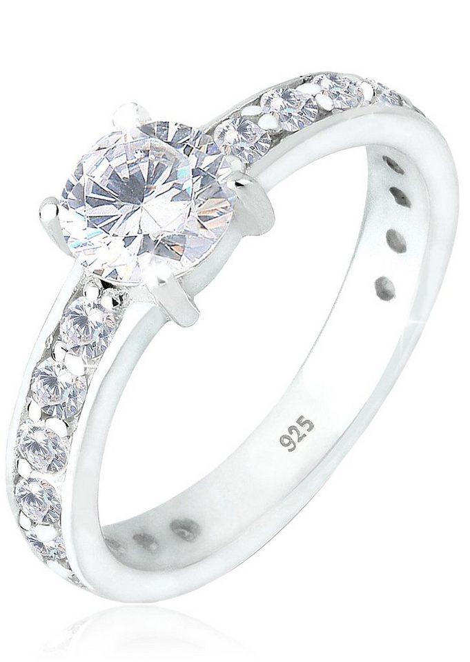 Elli Ring mit Zirkonia, »Starla, 06400201« in Silber 925