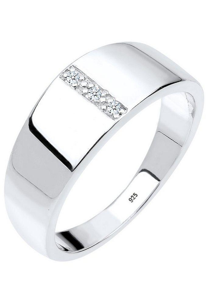 Diamore Ring mit funkelnden Brillanten, »Madison, 0605370913« in Silber 925