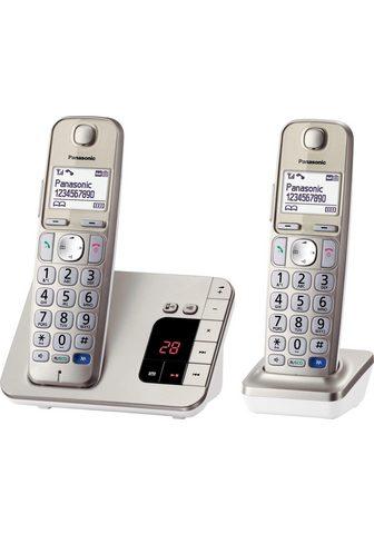 PANASONIC »KX-TGE222GN« Bevielis DECT-Telefon (M...