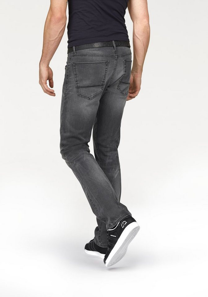 Bruno Banani Straight-Jeans »Steven (Stretch)« in grey