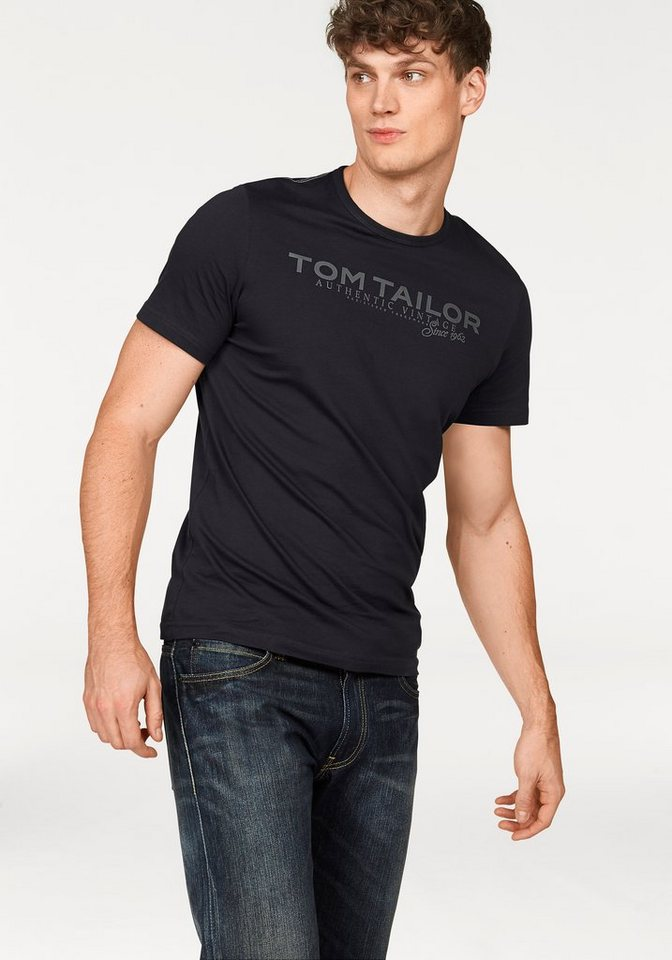Tom Tailor T-Shirt in marine