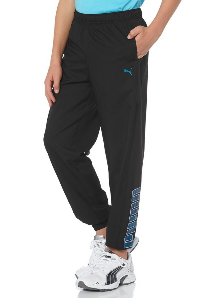PUMA ACTIVE CELL WOVEN PANTS Sporthose in Schwarz