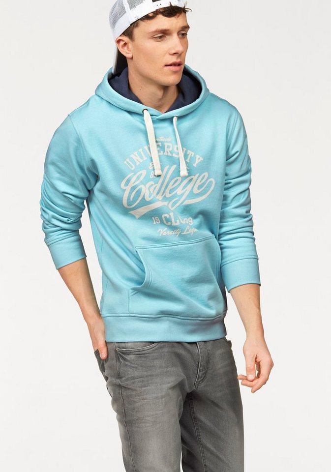 John Devin Kapuzensweatshirt in hellblau