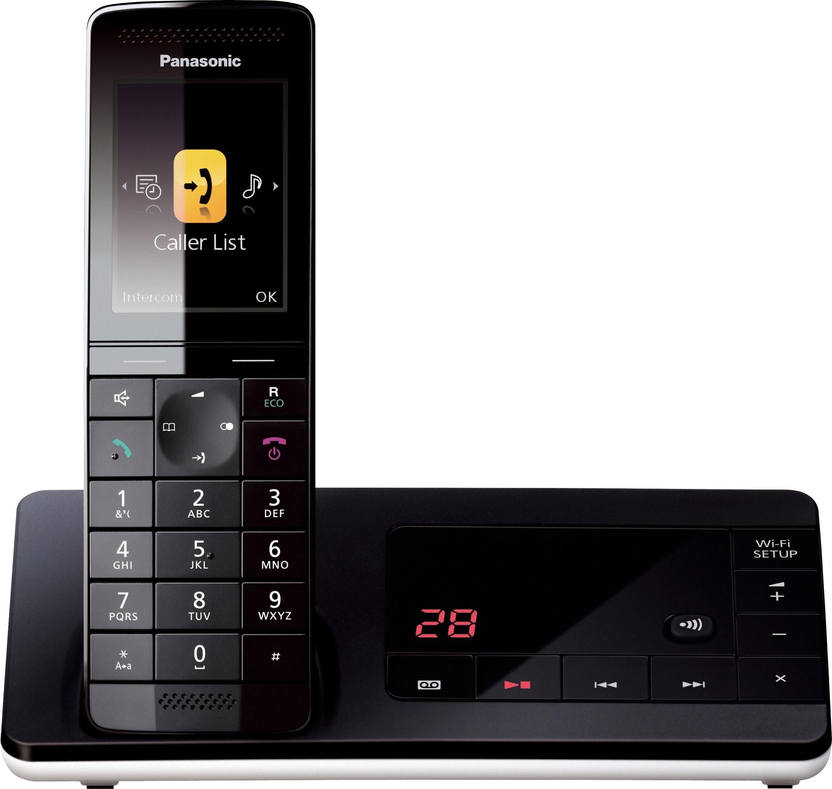 Panasonic »KX-PRW130« Schnurloses DECT-Telefon (WLAN (Wi-Fi)
