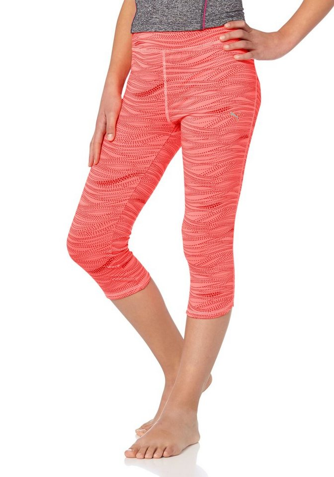 PUMA ACTIVE 3/4 TIGHTS 3/4-Funktions-Tights in Pink-Orange
