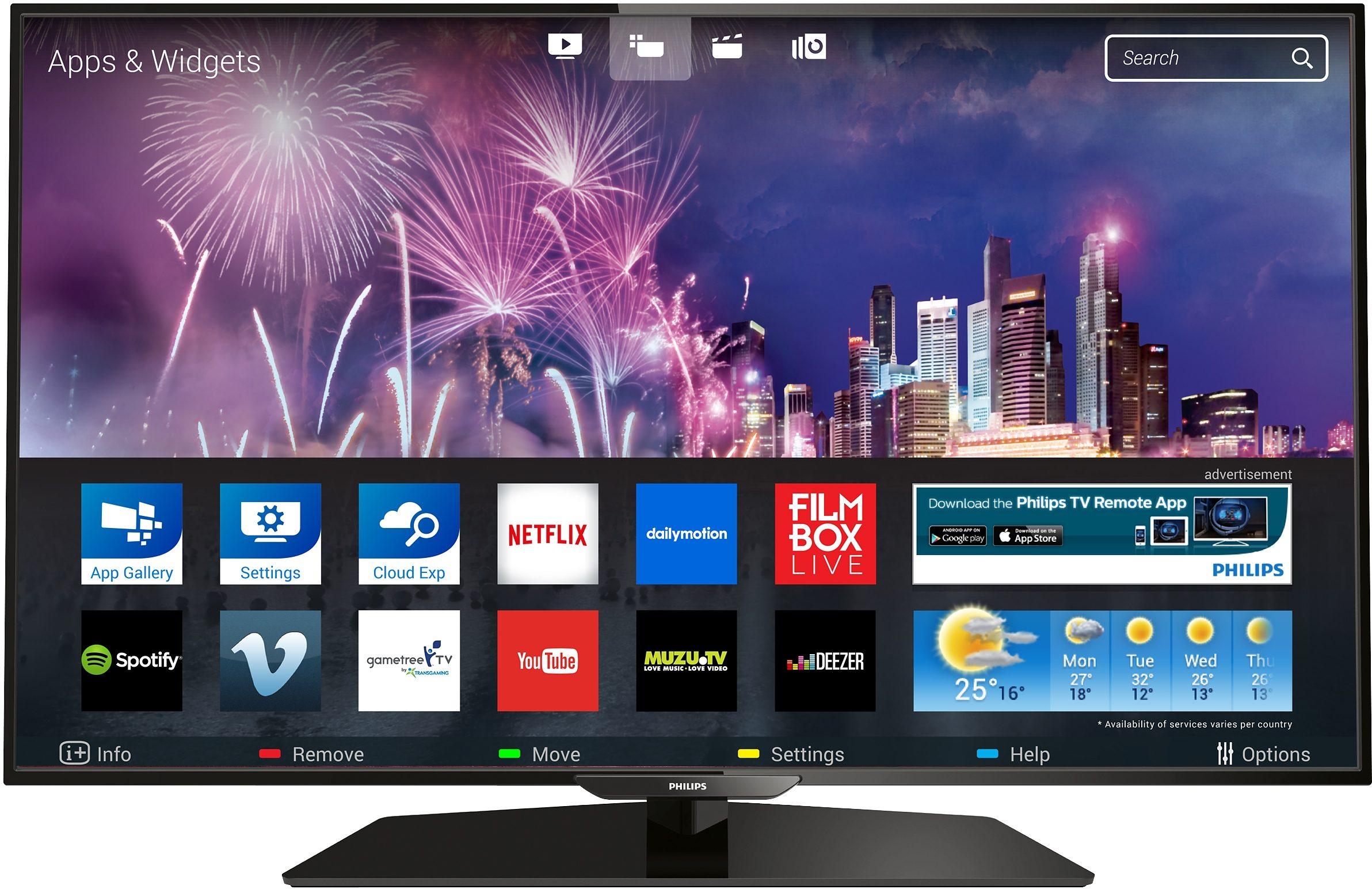 Philips 32PFK5300, LED Fernseher, 80 cm (32 Zoll), 1080p (Full HD), Smart-TV