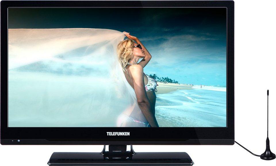 Telefunken L20H278M3, LED Fernseher, 51 cm (20 Zoll), HD-ready 720p in schwarz