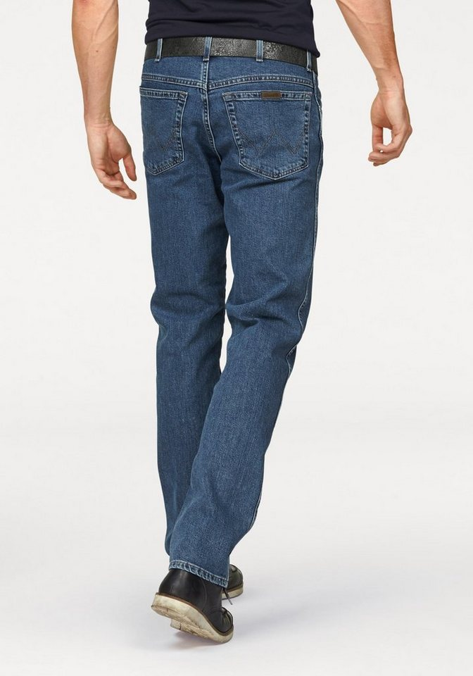 Wrangler Stretch-Jeans Regular Fit in stone