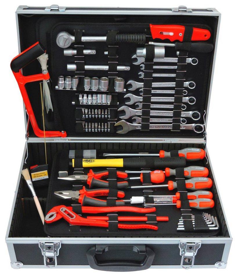 Werkzeugkoffer »FAMEX 759-64« in schwarz
