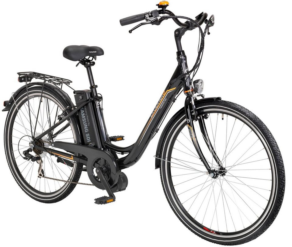 prophete e bike city damen navigator 500 28 zoll 7 gang mittelmotor 360 wh online kaufen. Black Bedroom Furniture Sets. Home Design Ideas