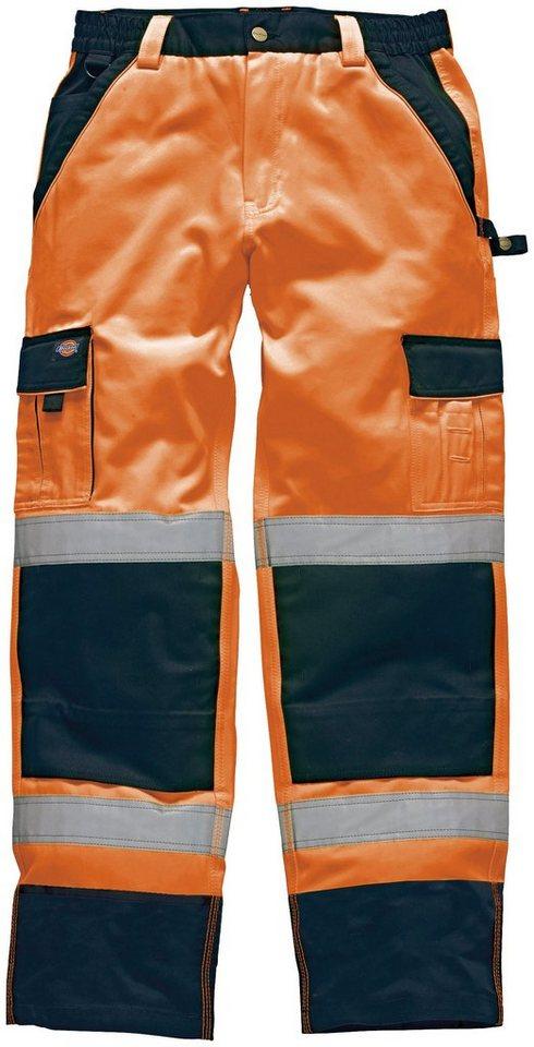 Arbeitshose »Industry High Vis« in orange/blau