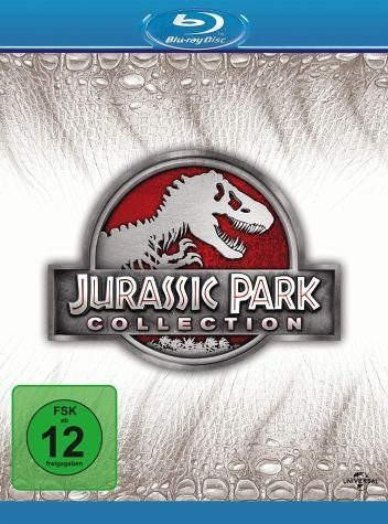 Blu-ray »Jurassic Park Collection ( 4 Discs)«