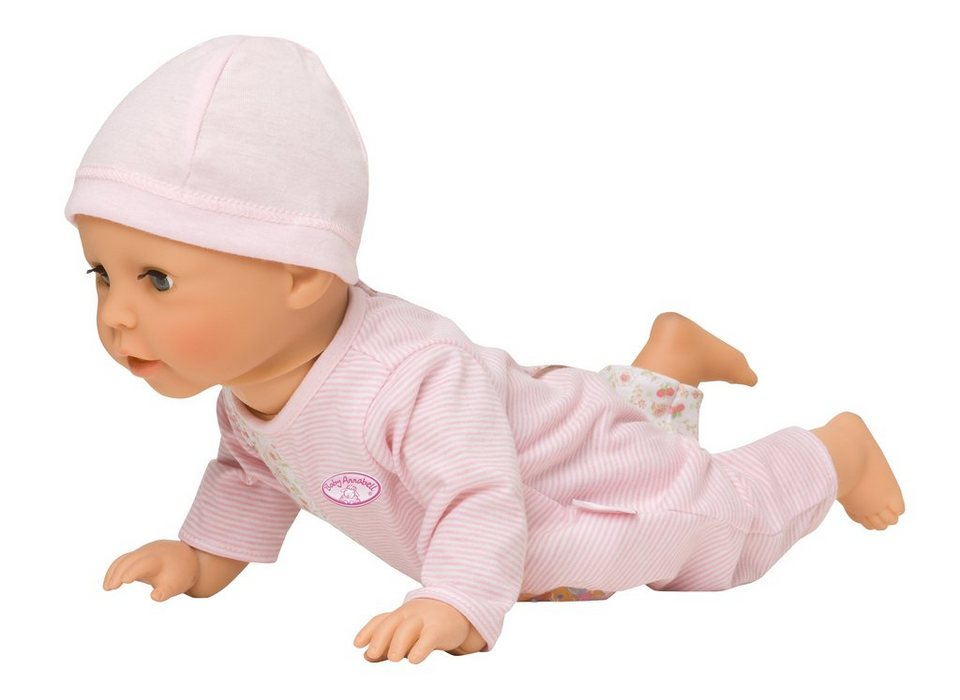 Zapf Creation Babypuppe mit Funktion, »Baby Annabell® Learns to Walk«