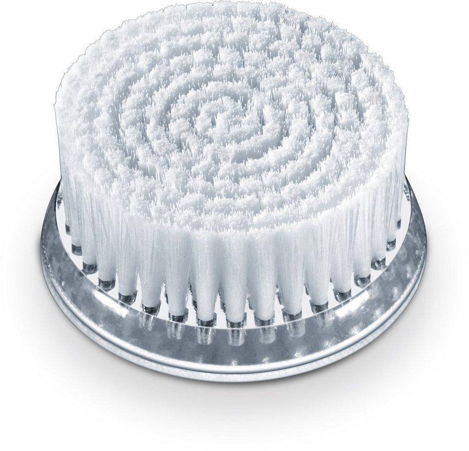 Beurer, Gesichtsreinigungsbürste Nachkaufset FC 65 , Pureo Deep Clear in weiß/silber