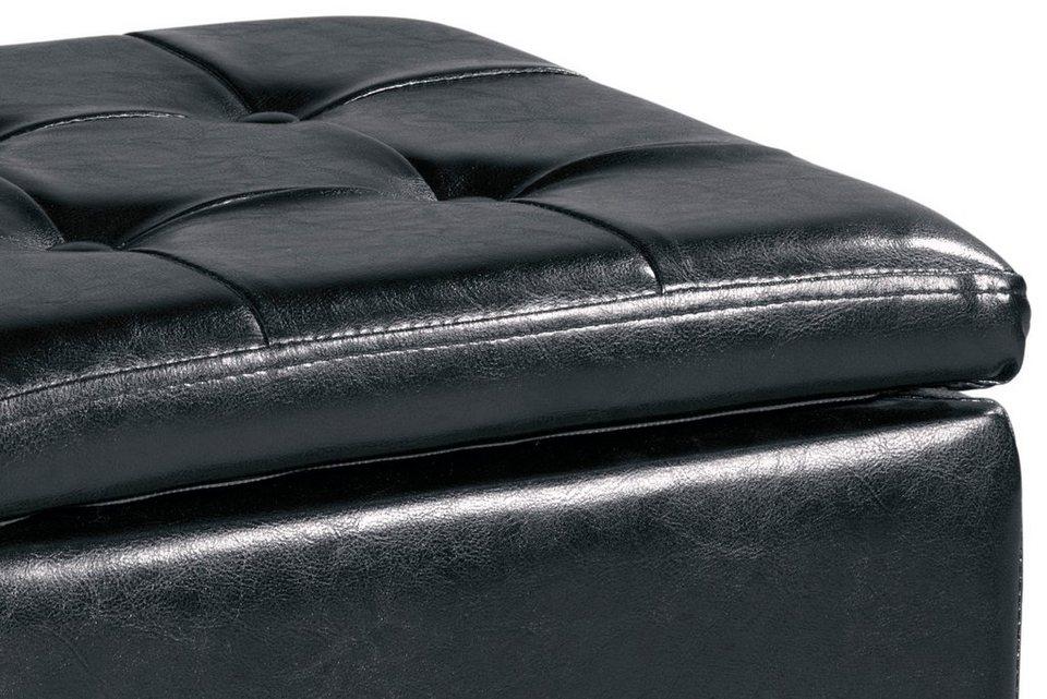 heine home hocker mit stauraum online kaufen otto. Black Bedroom Furniture Sets. Home Design Ideas