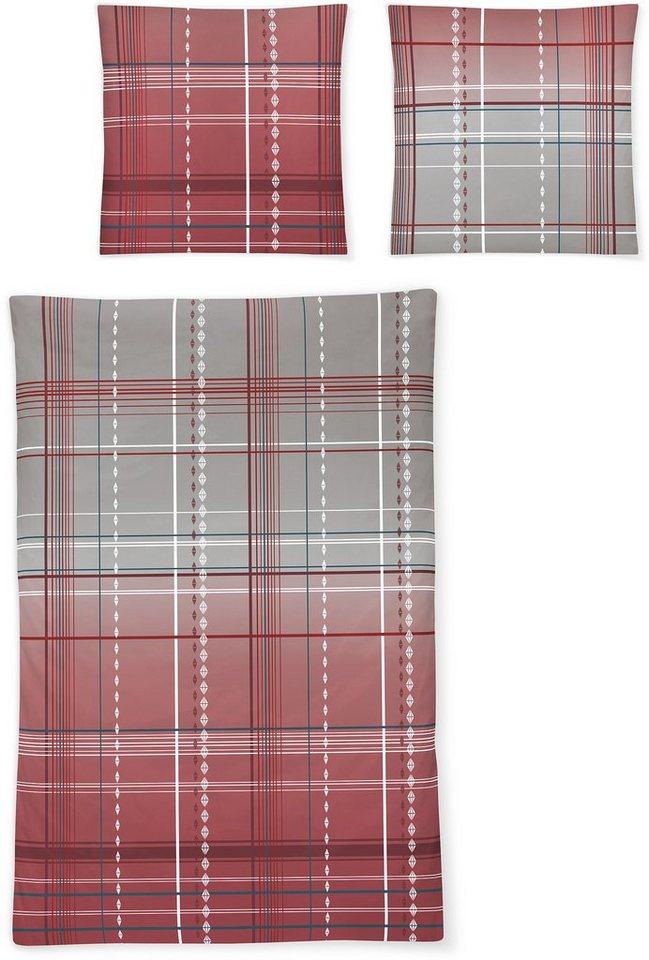 bettw sche irisette capri 8387 mit kleinen rauten online kaufen otto. Black Bedroom Furniture Sets. Home Design Ideas