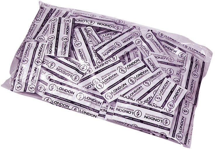 London Kondome »feucht«, 100er Packung
