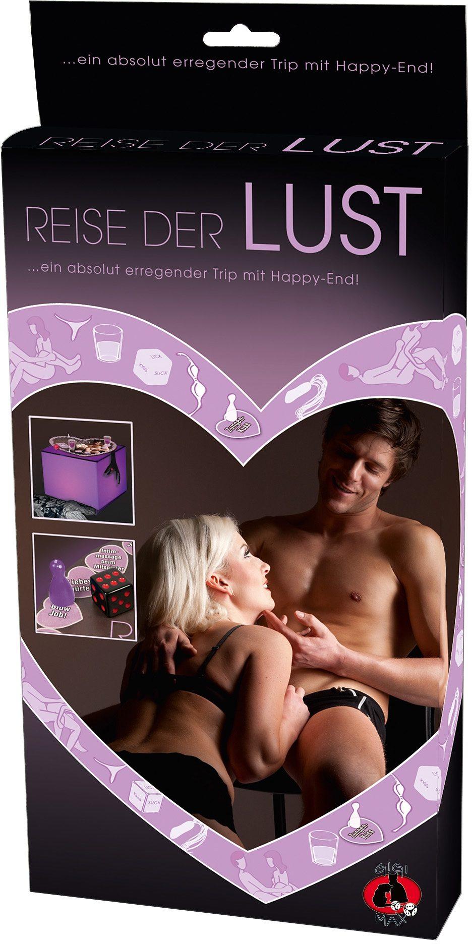 Gigimax Erotisches Brettspiel »Reise der Lust«,