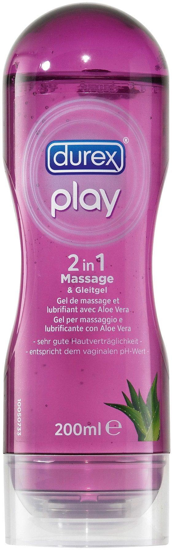 Durex wasserbasiertes Gleit- und Massagegel »2 in 1 Massage«