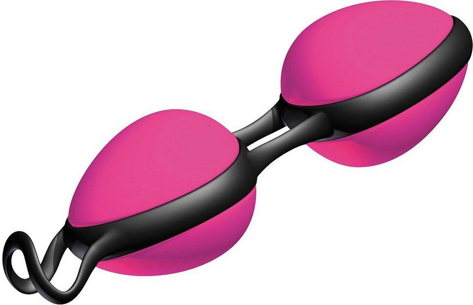 Joydivision Toys Schwere Liebeskugeln »Joyballs secret«, in pink/schwarz