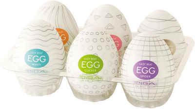 Tenga Masturbator »Egg Variety«, Set 6-tlg.