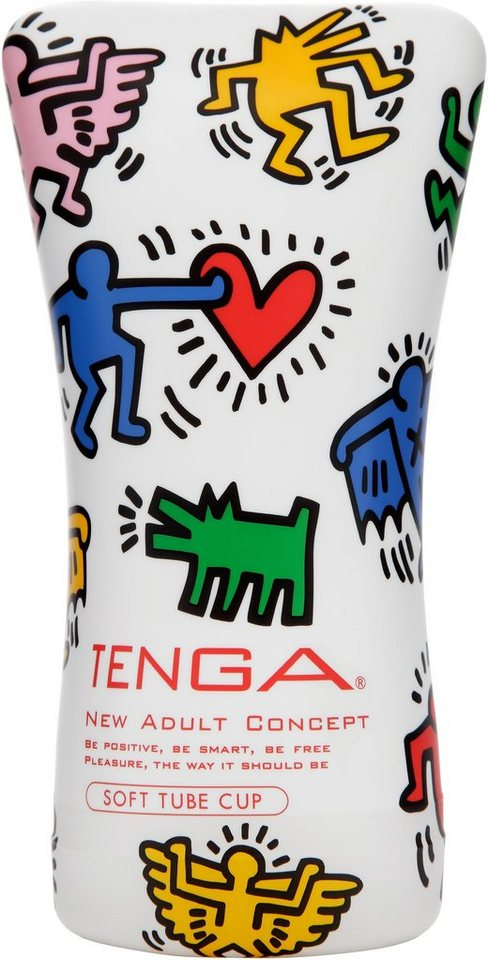TENGA Männertoy »Soft Tube«, in weiß