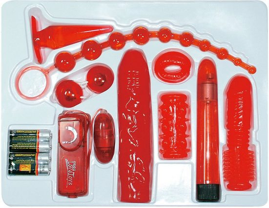 You2Toys Erotik-Toy-Set »Red Roses«, 9-tlg.