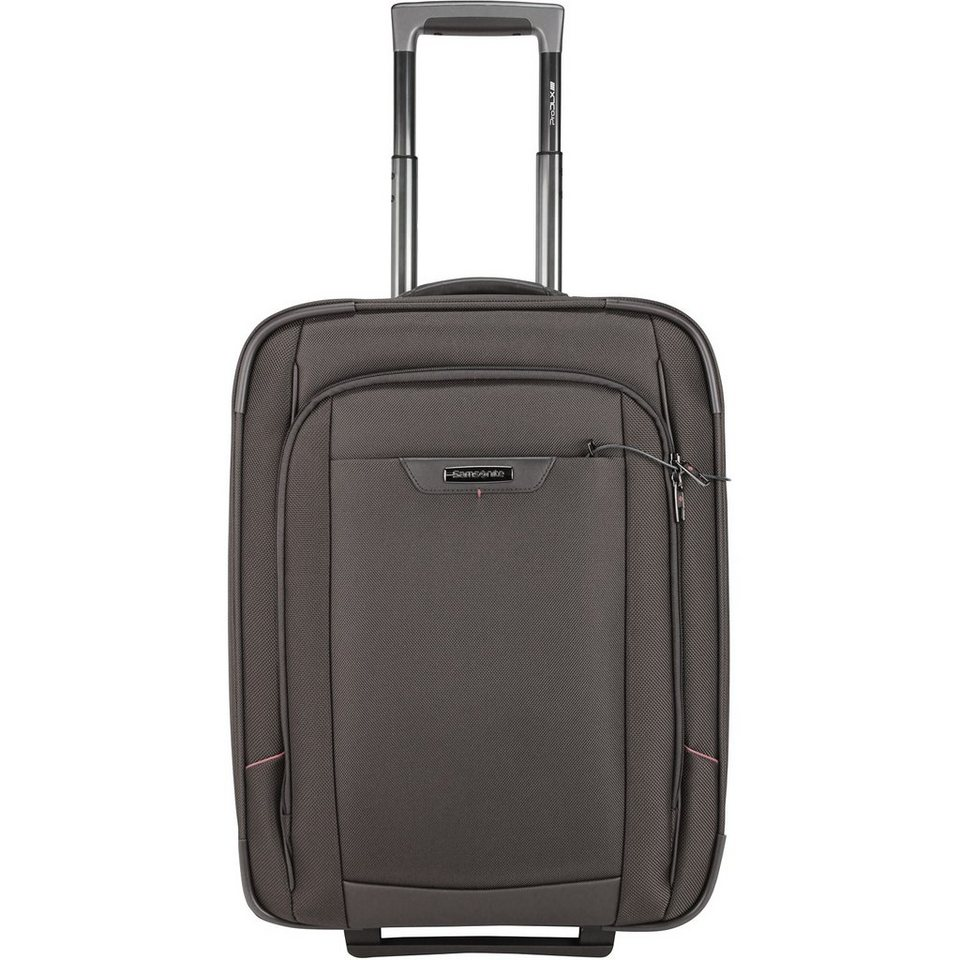 Samsonite Samsonite Pro-DLX 4 2-Rollen Upright Kabinentrolley 55cm in magnetic grey