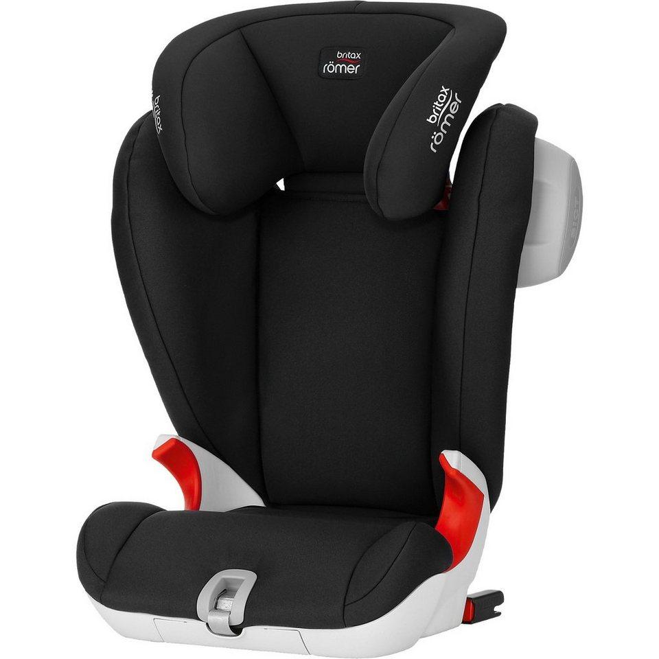 Britax Römer Auto-Kindersitz Kidfix SL Sict, Cosmos Black, 2016 in schwarz