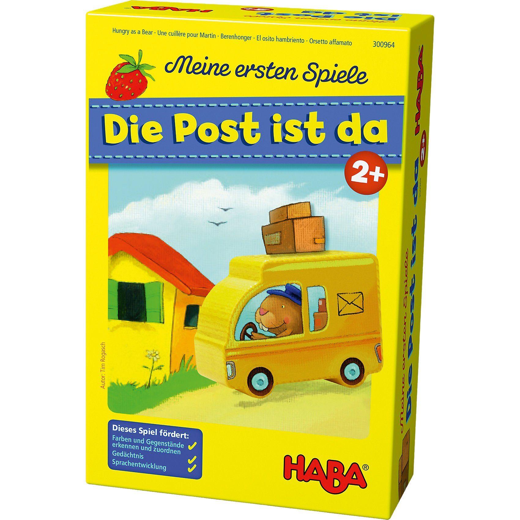 Haba Meine ersten Spiele - Die Post ist da