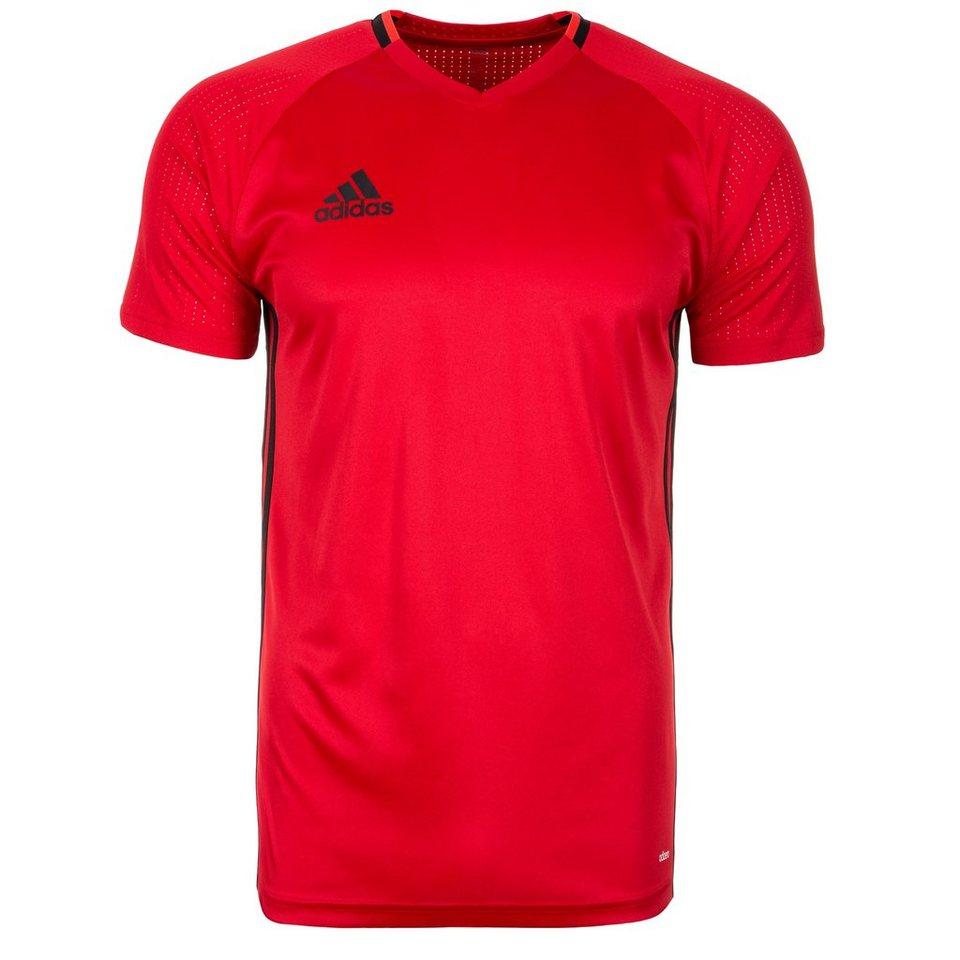 adidas Performance Condivo 16 Trainingsshirt Herren in rot / schwarz