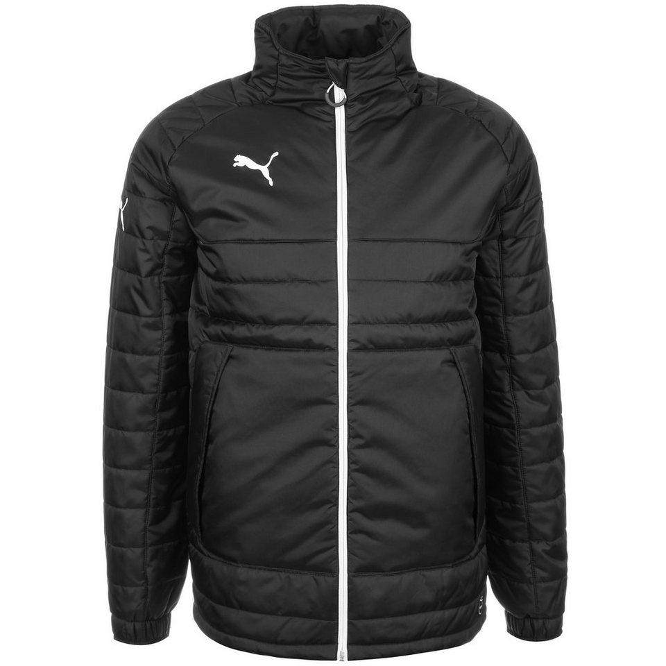 PUMA Pro Stadium Jacke Herren in schwarz / weiß