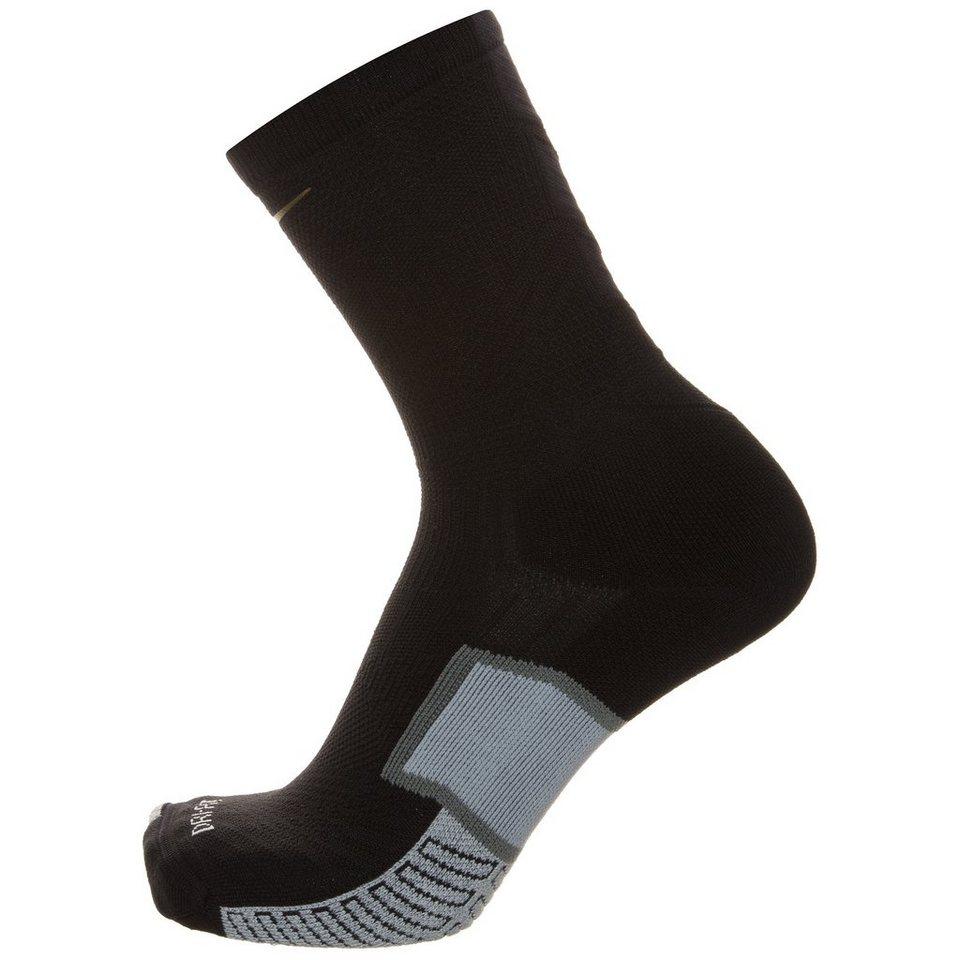 NIKE Elite Match Fit FC247 Crew Socken in schwarz / gelb