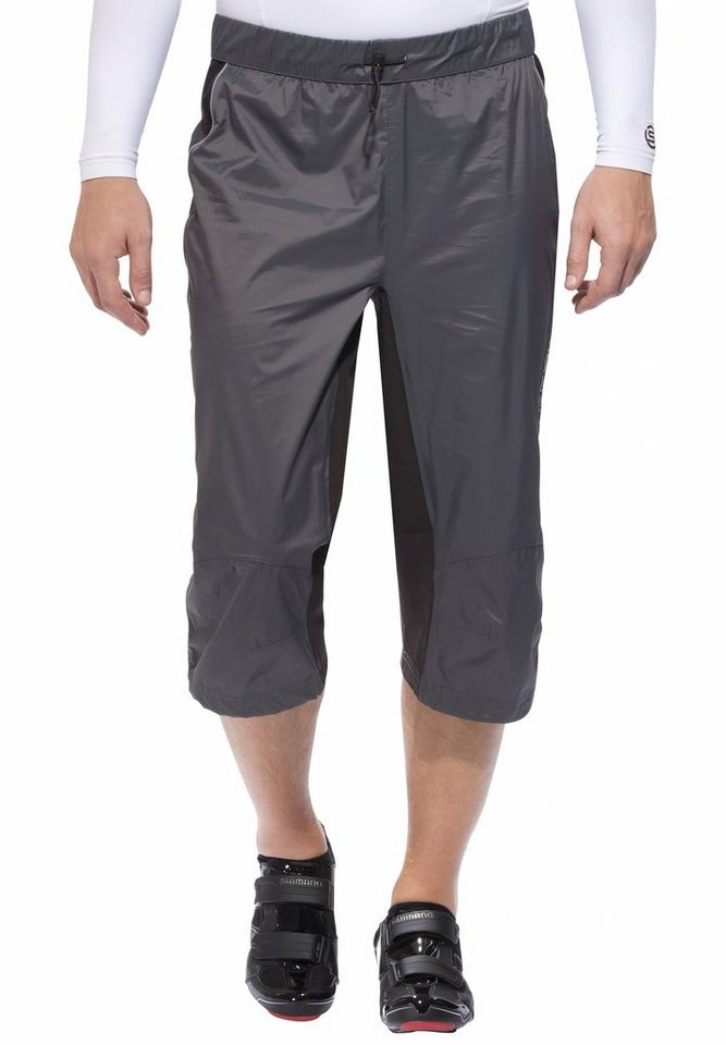 Protective Radhose »Rain Short Pant« in grau