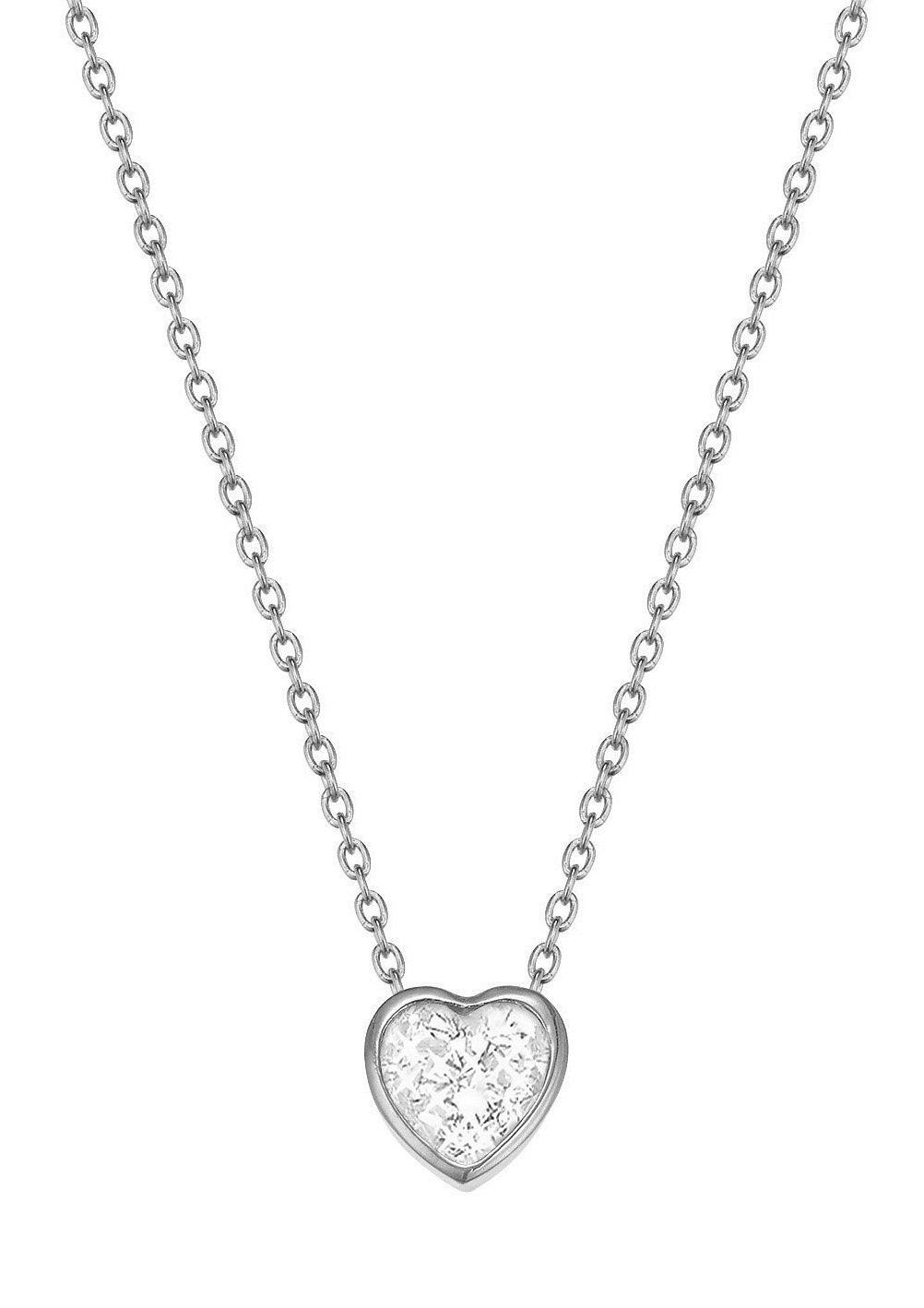 Esprit Halskette, mit Zirkonia, »ESPRIT-JW50037, ESNL02764A420«