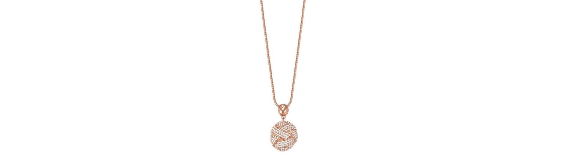 Esprit Halskette, mit Zirkonia, »ESPRIT-JW50060 rose, ESNL02752C800«