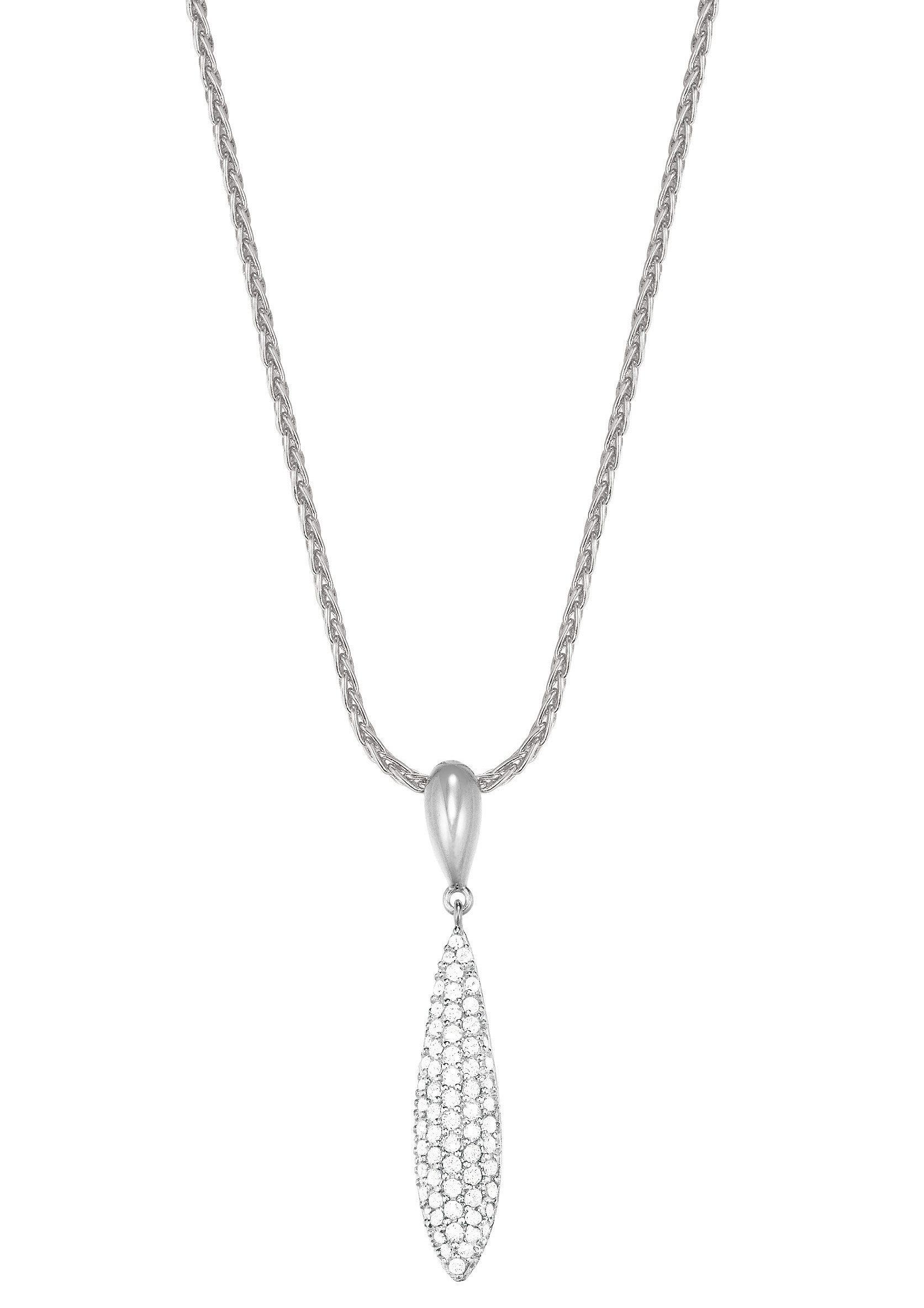 Esprit Halskette, mit Zirkonia, »ESPRIT-JW50053, ESNL03370A420«