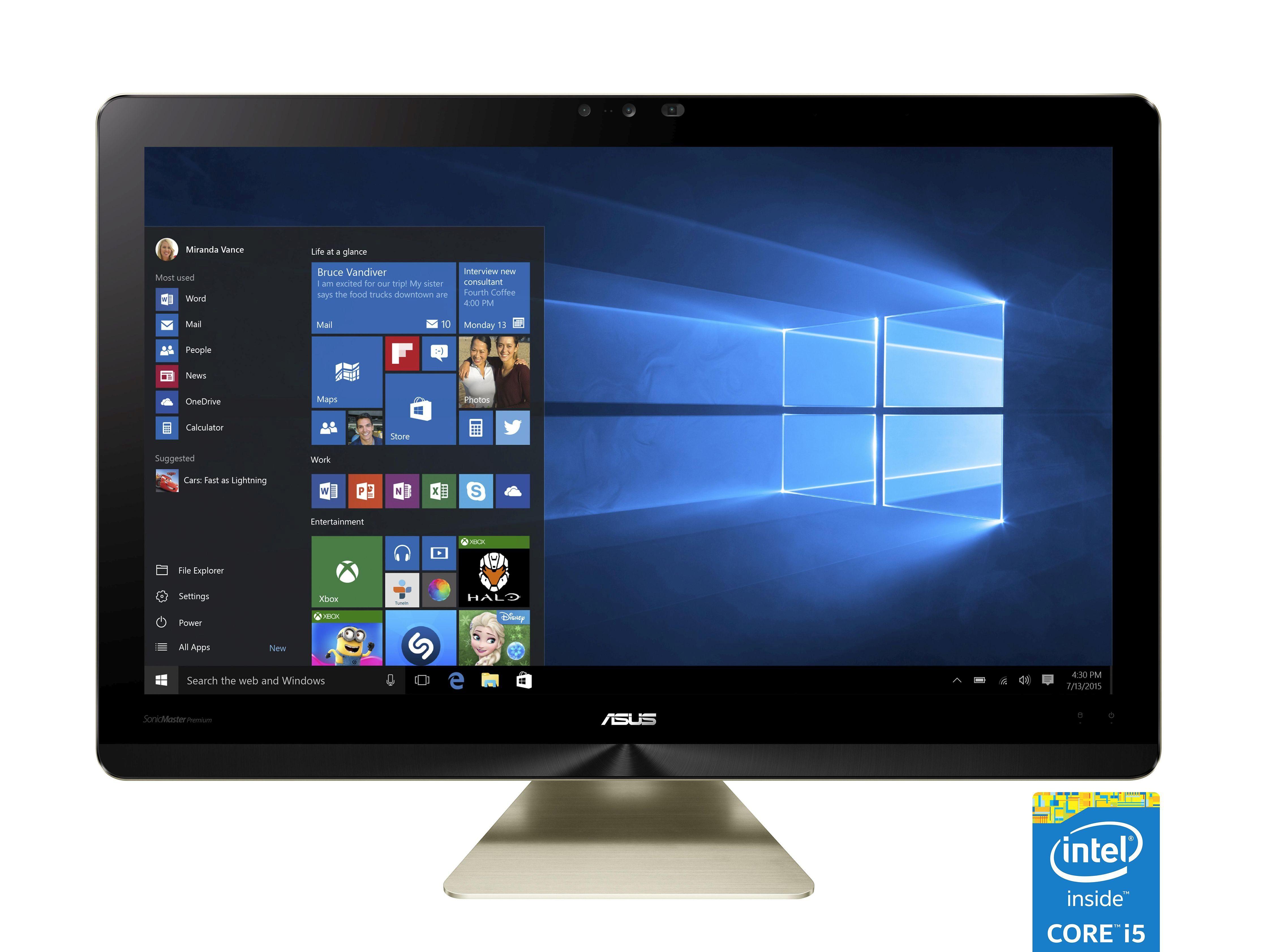"""ASUS Z240ICGK-GC005X All in One »Intel Core i5, 60,45cm (23,8""""), 1TB&128GB SSD,16GB«"""