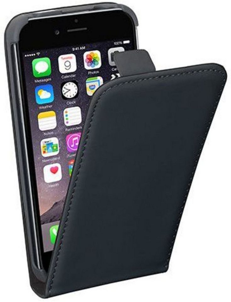 PEDEA Handytasche »Flip Cover Classic Apple iPhone 6S« in Schwarz