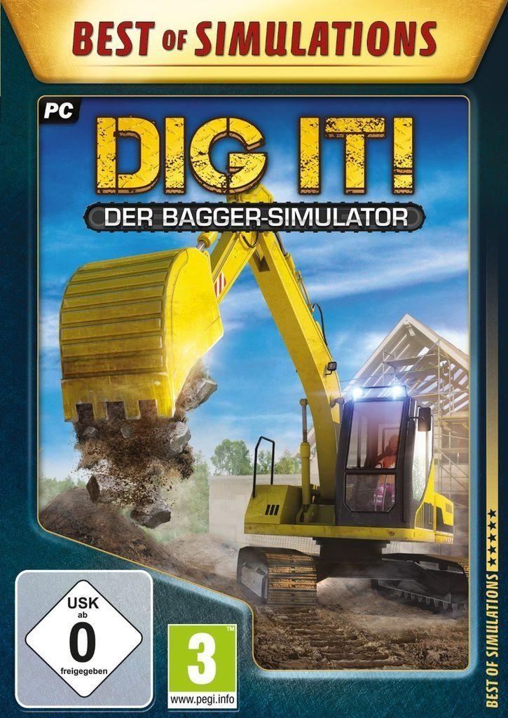 rondomedia PC - Spiel »DIG IT!: Der Bagger-Simulator«