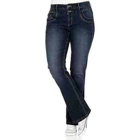 sheego Denim Bootcut-Stretch-Jeans