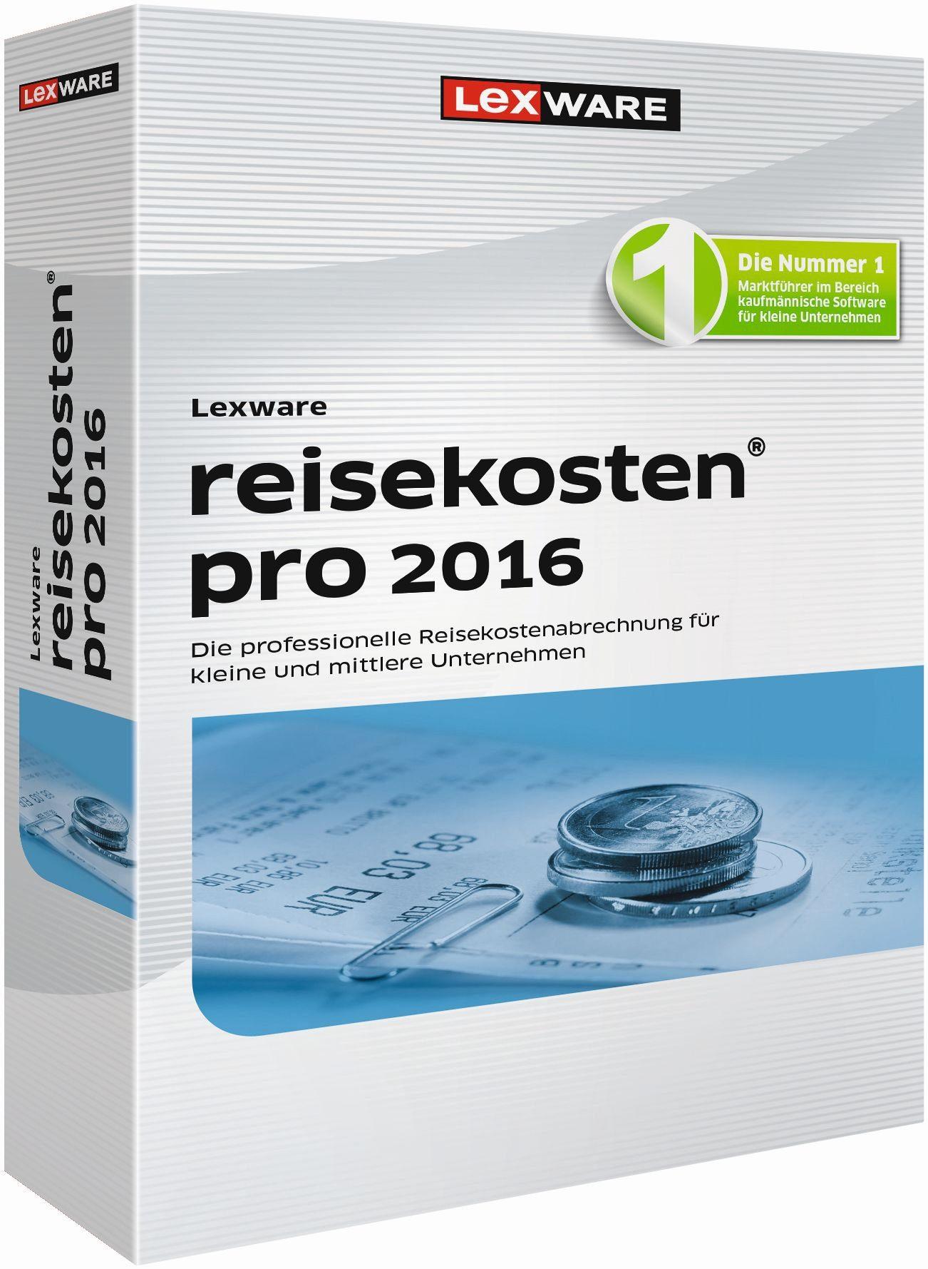 Lexware Kaufmännische Einzellösung »reisekosten pro 2016«